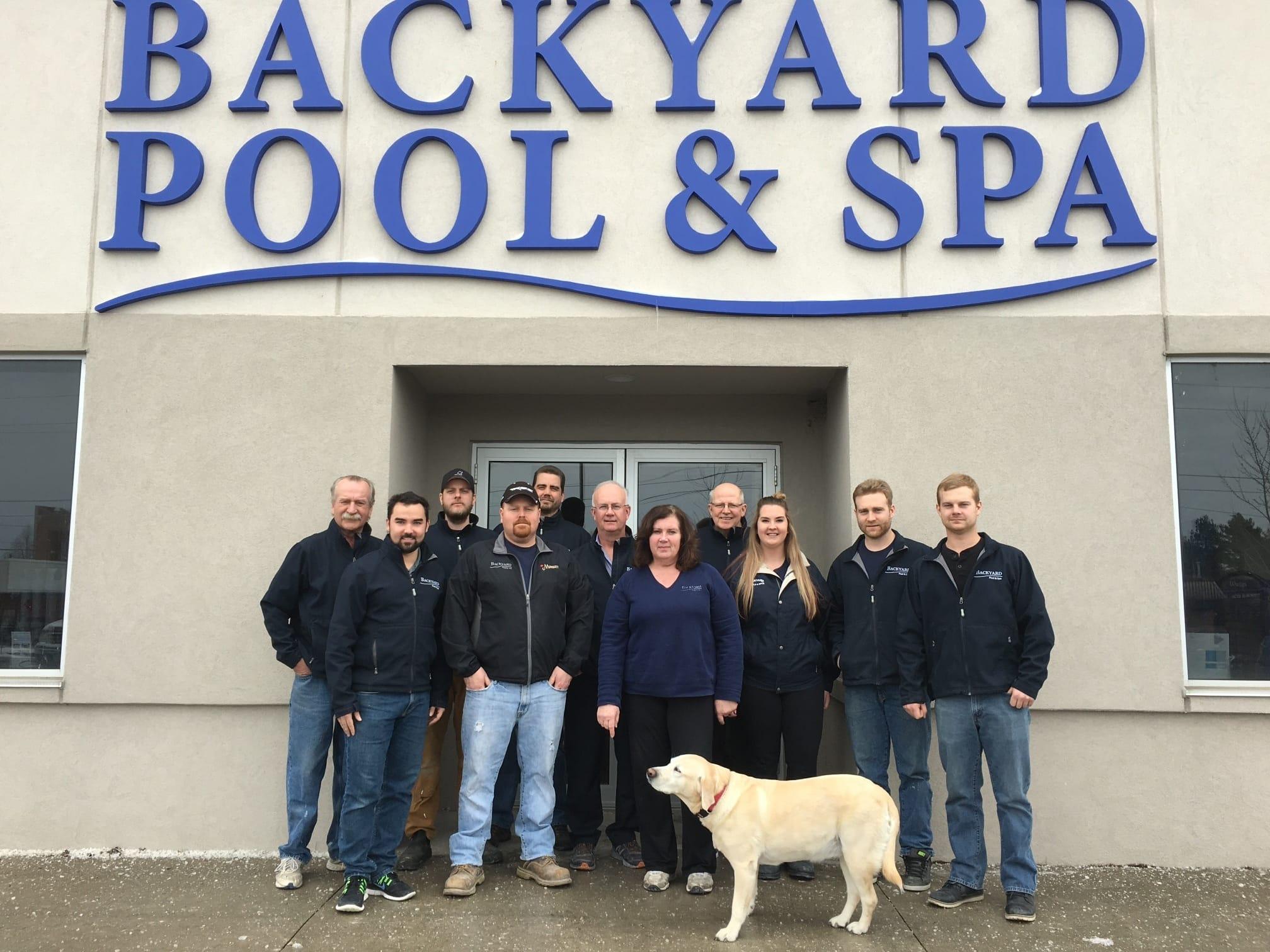 Backyard Pool & Spa team photo