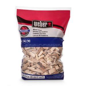 Weber Hickory Wood Chips 2 LB